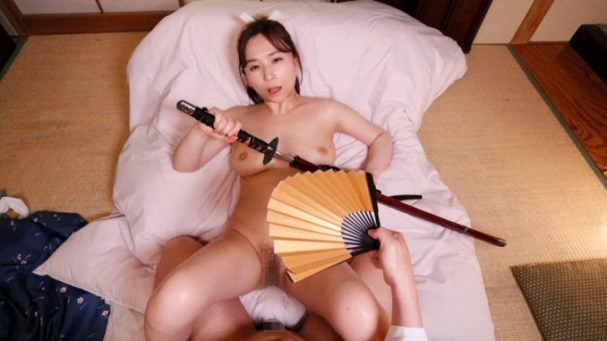 An Sasakura Stars in Sexy Samurai VR Porn Set in Feudal Japan