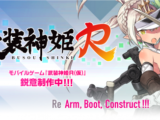Busou Shinki R game announced for smartphones